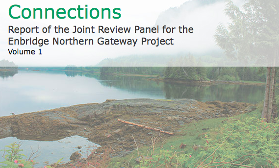 A review panel recommended approval of the pipeline proposed by Enbridge with 209 conditions.