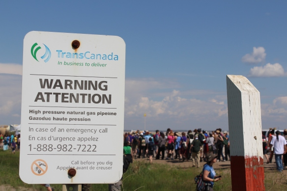 TransCanada's Keystone XL pipeline proposal linking the oilsands and Texas remained in the news in July and August 2014